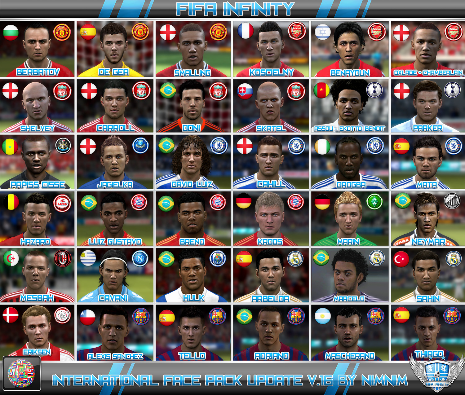 Fifa 12 Faces Neymar Face Santos Fc Update Fifa 12 Download It