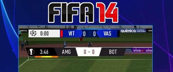 FIFA 14- Nowe Scoreboardy Ligi Mistrzów i Ligi Europy