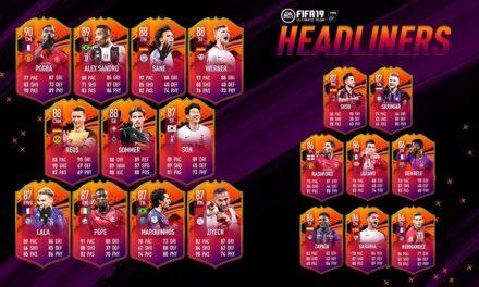 FIFA 19 UT Headlinerzy